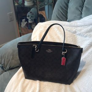 Handbags - Coach hand bag, very gently used!